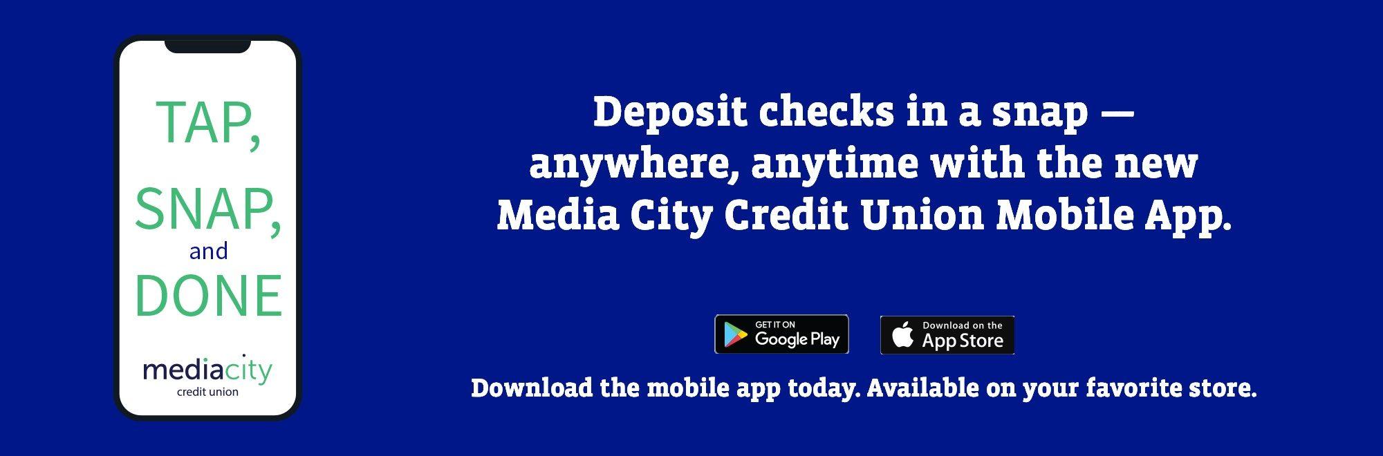 Check Deposit App Download